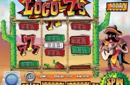 Nyerőgépes játék Loco 7's pénzbefizetés nélkül