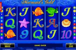 Casino online játék Mermaid's Gold