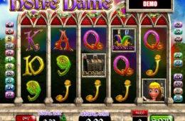 Casino nyerőgépes játék Notre Dame online
