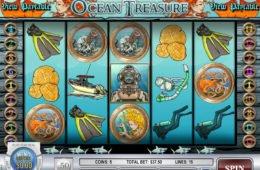 Regisztráció nélkül játszható Ocean Treasure ingyenes nyerőgép