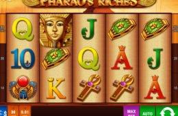 Ingyenes online nyerőgép Pharao's Riches