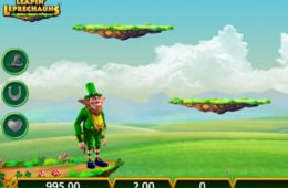 Rainbow Riches Leapin' Leprechauns online ingyenes nyerőgép