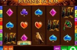Befizetés nélküli Ramses Book online nyerőgép