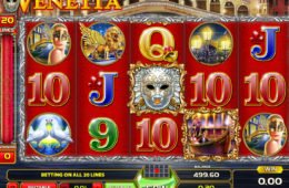 Venetia online casino játék