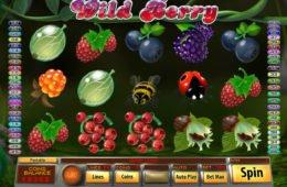 A Wild Berry nyerőgép képe