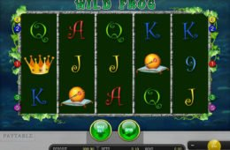 Online kaszinó játék Wild Frog regisztráció nélkül