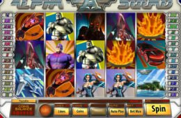 Online nyerőgépes játék Alfha Squad a Saucify-tól