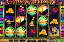 A Genie's Treasure nyerőgépes játék képe