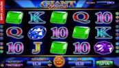 Játssz az ingyenes online Giant Gems casino nyerőgépes játékkal