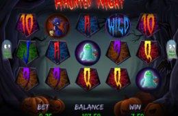 Online ingyenes nyerőgép Haunted Night