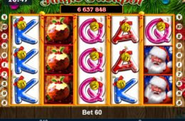 Regisztráció nélkül is játszható Jingle Jackpot online nyerőgép