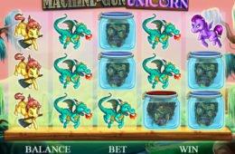 Kép az ingyenes online nyerőgépes játékból: Machine-Gun Unicorn