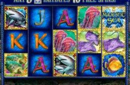 Kép a Majestic Sea ingyenes online nyerőgépes kaszinó játékból