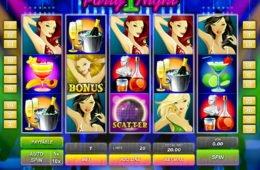 Party Night ingyenes online nyerőgépes casino játék