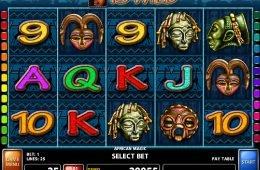 African Magic nyerőgépes játék szórakozáshoz