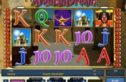 Játsszon az Arabian Dream ingyenes casino nyerőgéppel