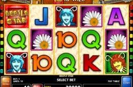 Ingyenes casino nyerőgép Beetle Star online