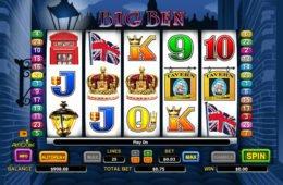 Big Ben ingyenes nyerőgépes játék szórakozáshoz