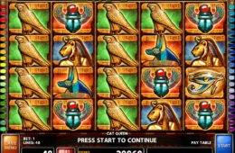 Online nyerőgépes játék Cat Queen