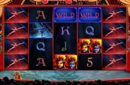 Nyerőgépes játék online Cirque Chinois