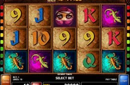 Ingyenes casino nyerőgép Desert Tales