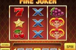 Nyerőgépes játék Fire Joker pénzbefizetés nélkül