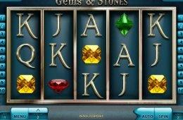 Játsszon a Gems and Stones ingyenes nyerőgéppel