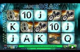 A James Dean nyerőgépes játék képe