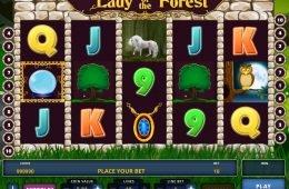 Lady of the Forest nyerőgép befizetés nélkül