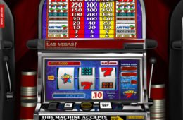 Pénzbefizetés nélkül játszható Lucky 7 online nyerőgép a Betsoft-tól
