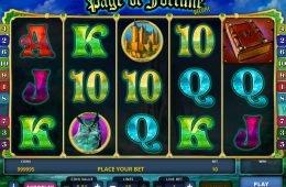 Casino ingyenes nyerőgépes játék Page of Fortune Deluxe