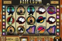 Nyerőgépes játék Reel Crime: Bank Heist szórakozáshoz