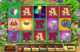 No deposit game Samba Spins online