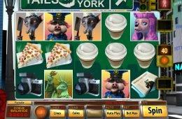 Online casino nyerőgépes játék Tails of New York