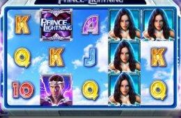 A The Prince of Lightning ingyenes casino nyerőgép képe