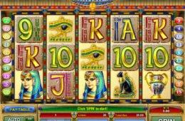 Játsszon a Cleopatra Treasure ingyenes online nyerőgéppel