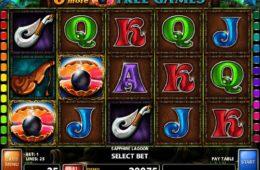 Online nyerőgépes kaszinó játék Sapphire Lagoon