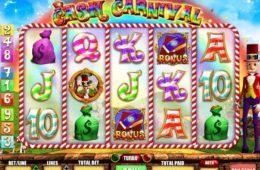 Játsszon a Willy Wonga ingyenes online nyerőgépes játékkal: Cash Carnival