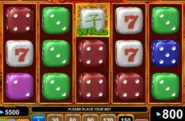 Játsszon a Caramel Dice online nyerőgéppel