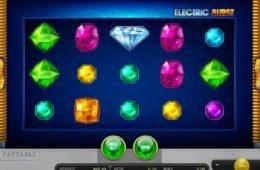 Befizetés nélkül játszható Electric Burst online nyerőgép