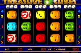 Treasure Cubes online kaszinó nyerőgép