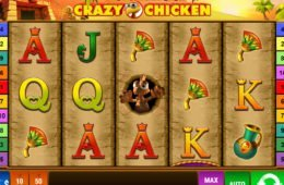 Book of Crazy Chicken online nyerőgépes játék