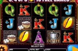 Játsszon ön is a Coffee Magic ingyenes casino játékkal