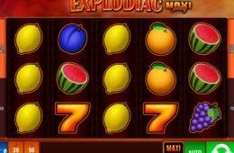Explodiac Maxi Play online nyerőgép a Bally Wulff-tól