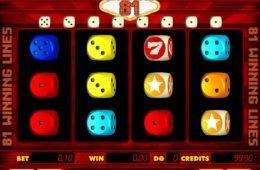 Játsszon ön is a Multidice 81 ingyenes nyerőgéppel