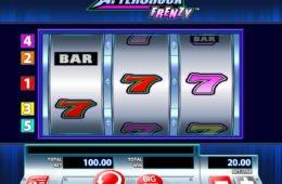 Nyerőgépes online játék AfterShock Frenzy szórakozáshoz