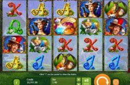 Alice in Wonderslots nyerőgépes játék szórakozáshoz