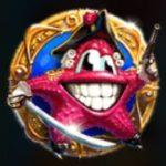 A Lucky Pirates online casino játék scatter ikonja