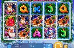 Merry Christmas online kaszinó játék szórakozáshoz