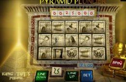 A Pyramid Plunder online nyerőgép képe